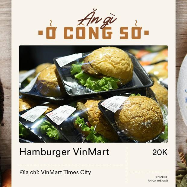 Dân văn phòng ở Hà Nội sáng mai có vội đi làm thì đừng bỏ qua 4 địa chỉ bán hamburger đầy đặn mà giá chỉ từ 15k dưới đây - Ảnh 7.