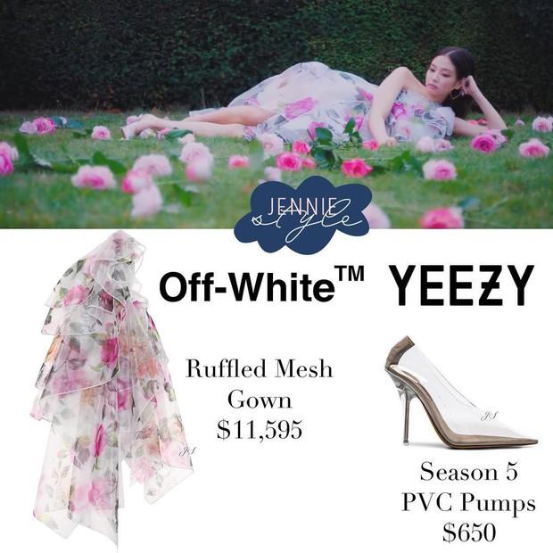 Hào phóng đầu tư gần 1 tỷ tiền quần áo cho Jennie quay MV, chẳng trách YG bị CL đá xoáy là thiên vị quá lố - Ảnh 6.