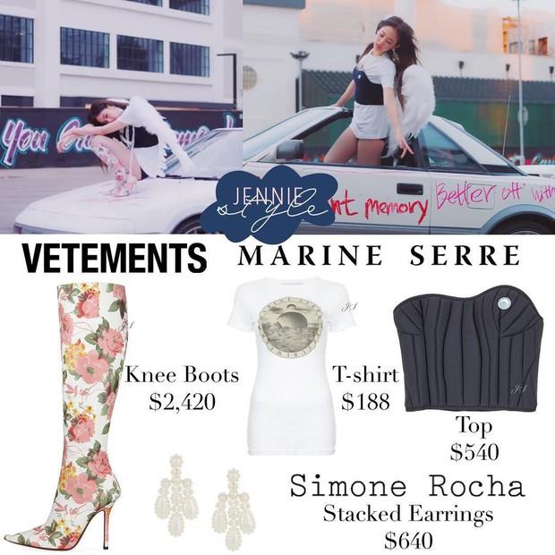 Hào phóng đầu tư gần 1 tỷ tiền quần áo cho Jennie quay MV, chẳng trách YG bị CL đá xoáy là thiên vị quá lố - Ảnh 7.