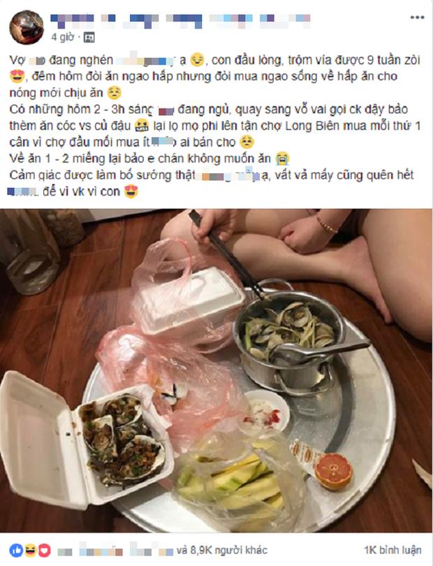 2 giờ sáng lên tận chợ Long Biên mua cóc cho vợ bầu vẫn kêu sướng: Anh chồng hot nhất MXH hôm nay là ai? - Ảnh 1.