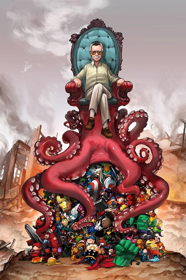 Stan Lee: 10 sự thật thú vị về huyền thoại của siêu anh hùng Marvel - Ảnh 6.