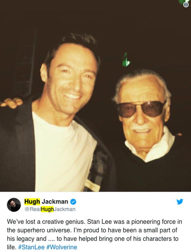 Dàn sao phim Marvel và nhiều nghệ sĩ khác cùng tưởng nhớ Stan Lee sau tin cha đẻ các siêu anh hùng qua đời - Ảnh 4.