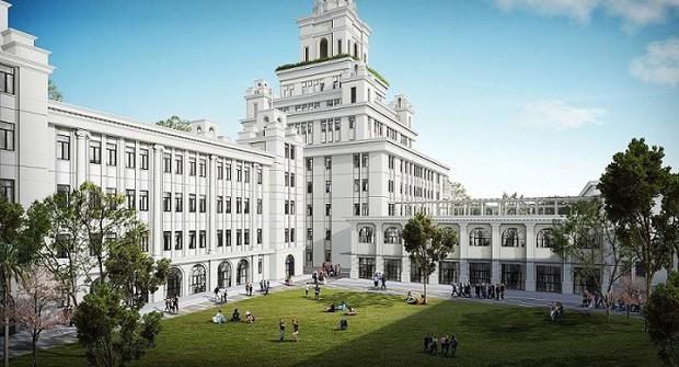 Đại học VinUni: Rộng 23 hecta, giống như lâu đài 10 tầng với tháp 108m - Ảnh 1.