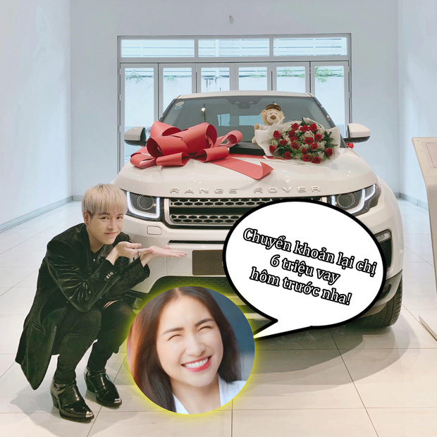 Đức Phúc vừa mới tậu xe, Hoà Minzy không đòi khao rửa xe mà vội vào... đòi nợ ngay 6 triệu! - Ảnh 4.