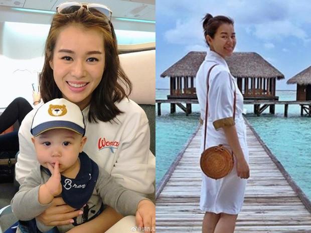 Con trai được 1 tuổi, Hồ Hạnh Nhi tiếp tục mang thai lần 2 ở tuổi 40 - Ảnh 1.