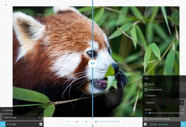 Ứng dụng web mới của Google giúp bạn nén ảnh kích thước lớn mà không làm giảm quá nhiều chất lượng - Ảnh 2.