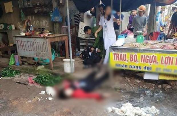 Hải Dương: Vụ bắn người tại chợ khiến nạn nhân tử vong tại chỗ - Ảnh 1.