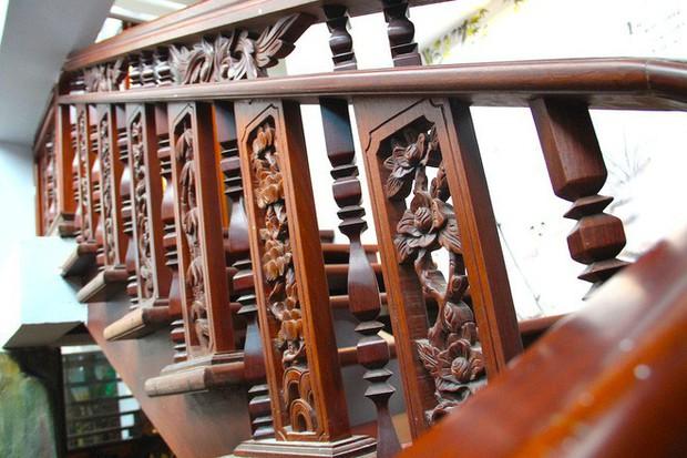 Ngắm cảnh xa hoa bên trong ngôi nhà gỗ trăm tỷ của đại gia Hà Tĩnh - Ảnh 19.