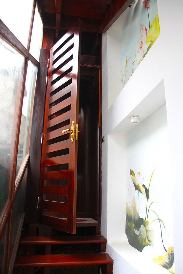 Ngắm cảnh xa hoa bên trong ngôi nhà gỗ trăm tỷ của đại gia Hà Tĩnh - Ảnh 21.