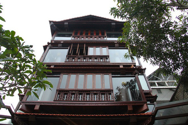 Ngắm cảnh xa hoa bên trong ngôi nhà gỗ trăm tỷ của đại gia Hà Tĩnh - Ảnh 27.