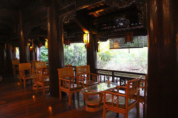 Ngắm cảnh xa hoa bên trong ngôi nhà gỗ trăm tỷ của đại gia Hà Tĩnh - Ảnh 30.