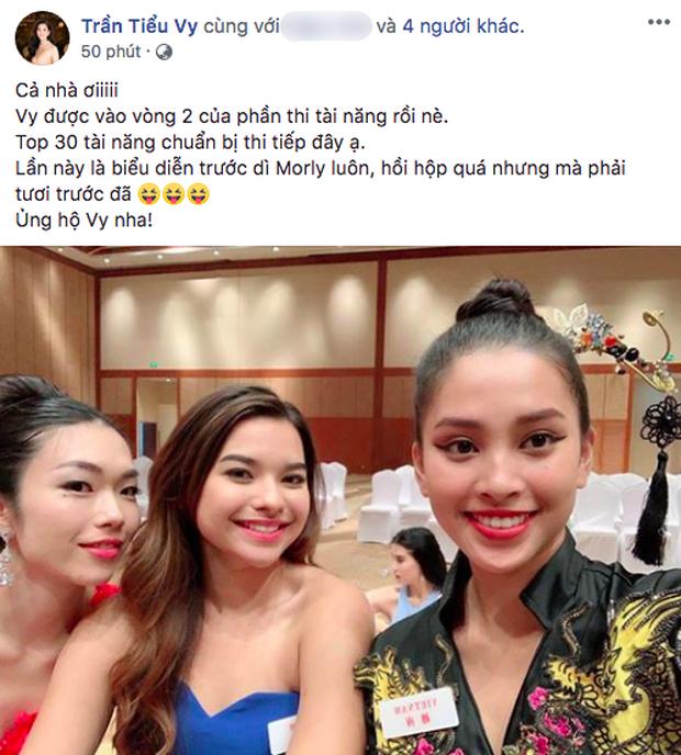 Tin vui đầu tiên từ Miss World 2018: Tiểu Vy chính thức lọt vào vòng 2 phần thi tài năng - Ảnh 1.