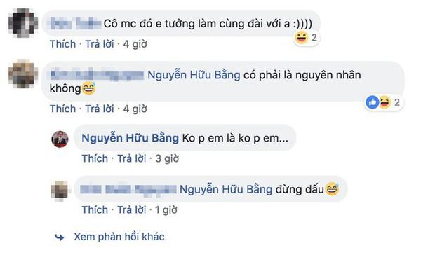 MC Hữu Bằng bất ngờ ẩn ý về một cô MC lục đục hôn nhân, cho rằng yêu đương khoe lên Facebook thì được mấy hôm - Ảnh 4.