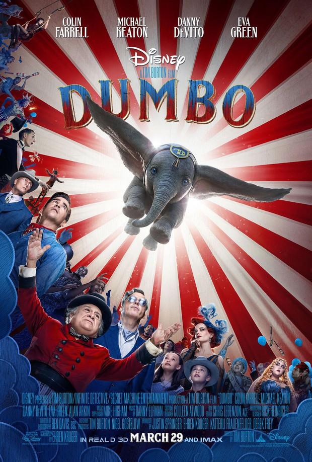 Chú voi biết bay Dumbo cute như một sinh vật huyền bí thuộc ở thế giới phép thuật trong trailer vừa tung - Ảnh 2.