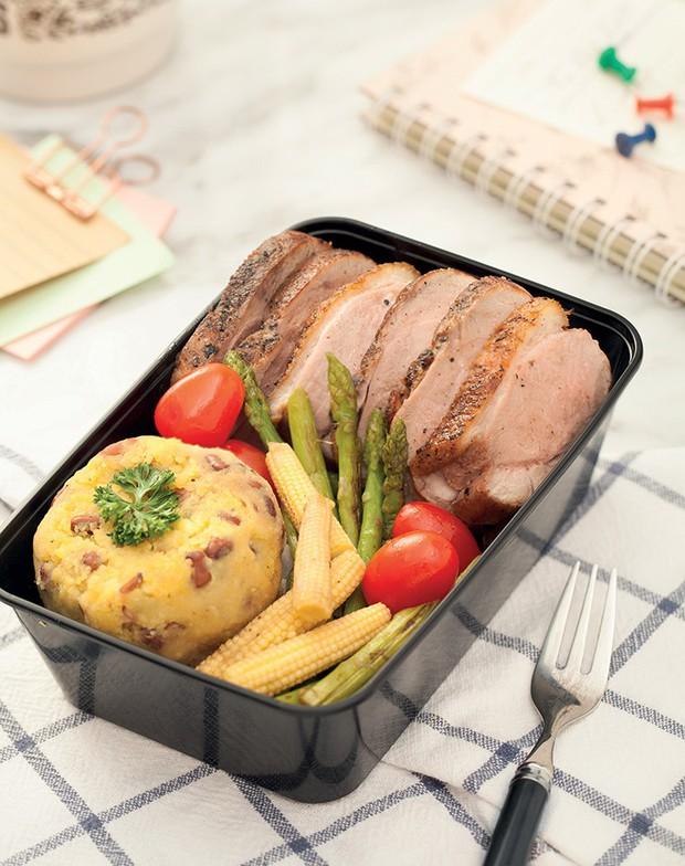4 thực đơn bữa trưa low carb nhìn là muốn ăn ngay - Ảnh 3.