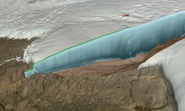 Phát hiện hố thiên thạch rộng 31 km tại Greenland, tạo thành bởi một cục sắt nặng 10 tỉ tấn từ trên trời rơi xuống - Ảnh 1.