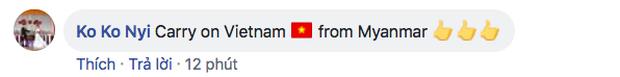 Bạn bè quốc tế choáng ngợp trước cảnh hát Quốc ca Việt Nam hoành tráng trên sân Mỹ Đình - Ảnh 4.