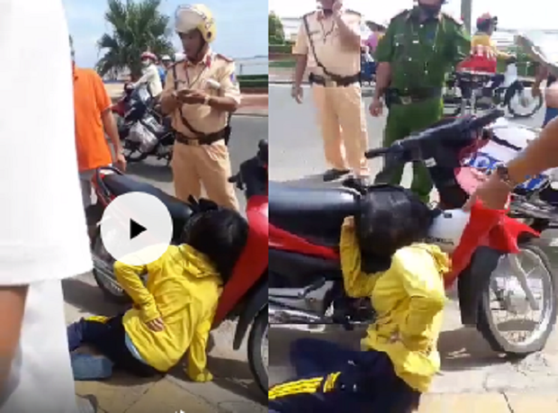 Hé lộ nguyên nhân CSGT bắn người phụ nữ vi phạm giao thông bị thương ở Phú Yên - Ảnh 2.