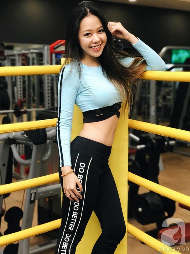 Chỉ sau 2 tuần tập gym kết hợp ăn low carb, cô gái đã thấy điều kì diệu với cơ bụng của mình - Ảnh 13.
