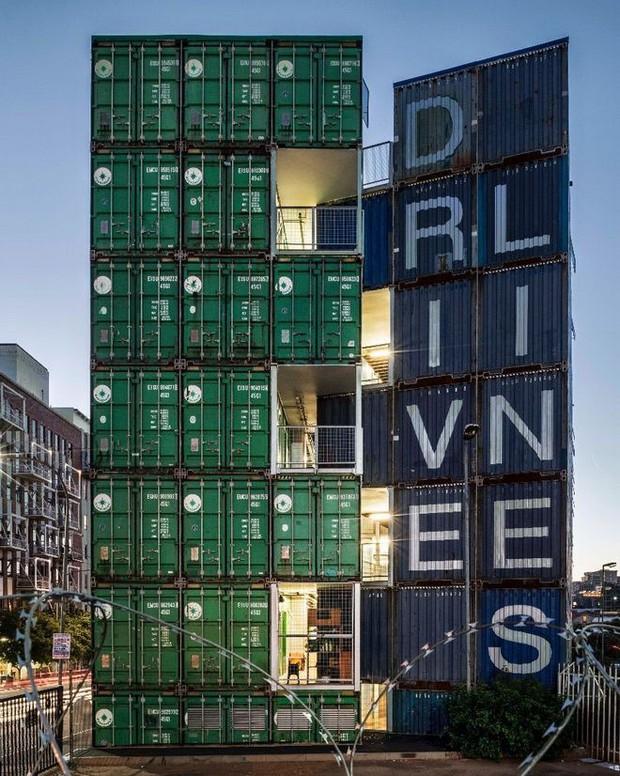 """Tham quan """"khu chung cư"""" độc đáo tại Nam Phi, nơi cư dân sinh sống trong 140 container đầy đủ tiện nghi - Ảnh 5."""