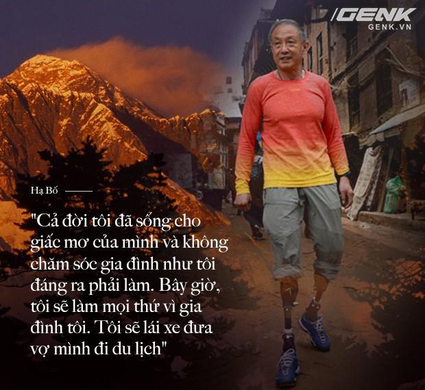 Bị ung thư và mất cả 2 chân, nhưng định mệnh nói người đàn ông 69 tuổi này phải chinh phục đỉnh Everest - Ảnh 11.