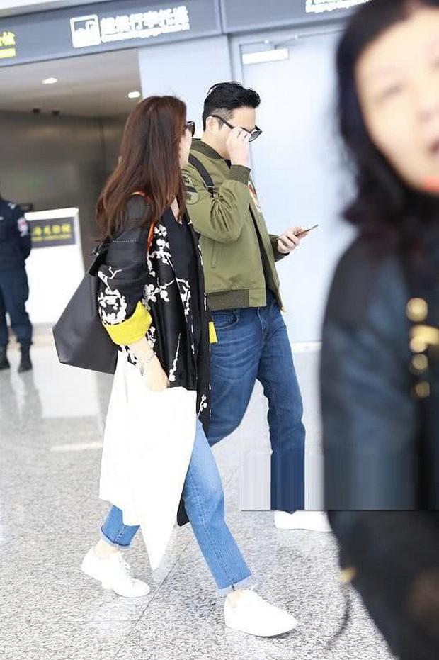 Vợ chồng Viên Vịnh Nghi - Trương Trí Lâm cãi nhau tại sân bay, mặt nặng mày nhẹ cả dọc đường - Ảnh 3.