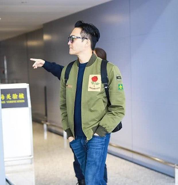 Vợ chồng Viên Vịnh Nghi - Trương Trí Lâm cãi nhau tại sân bay, mặt nặng mày nhẹ cả dọc đường - Ảnh 9.