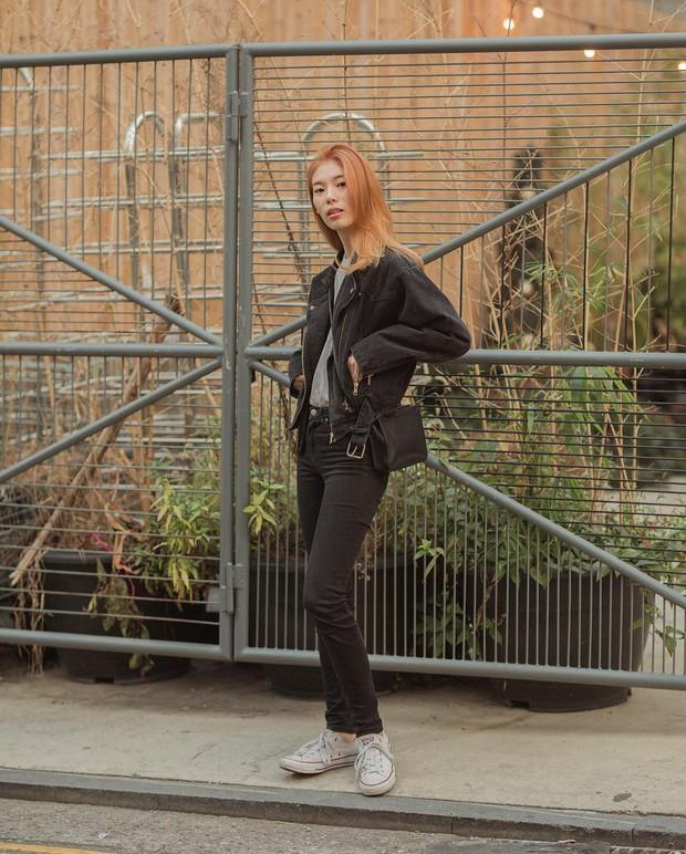 Tuyển tập bí kíp mặc đẹp ngày se lạnh dành cho bạn nằm cả ở street style tuần qua của giới trẻ Hàn - Ảnh 10.