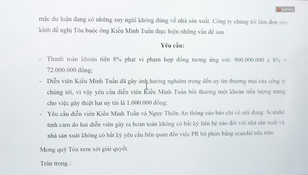NSX phim Chú Ơi, Đừng Lấy Mẹ Con: Kiều Minh Tuấn đã đến xin lỗi và hoàn trả lại toàn bộ 900 triệu tiền cát-xê - Ảnh 5.