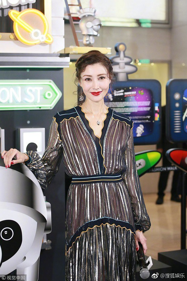 Lấy chồng đại gia, Hoa hậu đẹp nhất lịch sử Hong Kong khoe nhan sắc U50 sang chảnh, mặn mà - Ảnh 3.