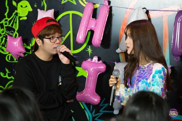 Han Sara hướng dẫn Bùi Anh Tuấn cover hit của TaeYang (BigBang) cực đáng yêu - Ảnh 4.
