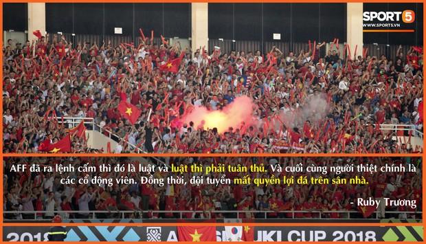 Số đông người hâm mộ phẫn nộ vì hành động đốt pháo sáng trên sân Mỹ Đình - Ảnh 3.