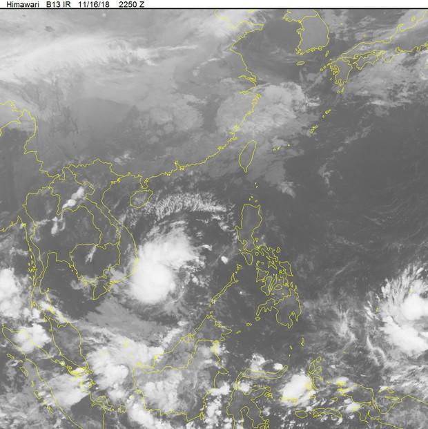 Các tỉnh phía Nam đối phó với áp thấp nhiệt đới mới hình thành, miền Bắc đón không khí lạnh, trời rét từ 19/11 - Ảnh 2.