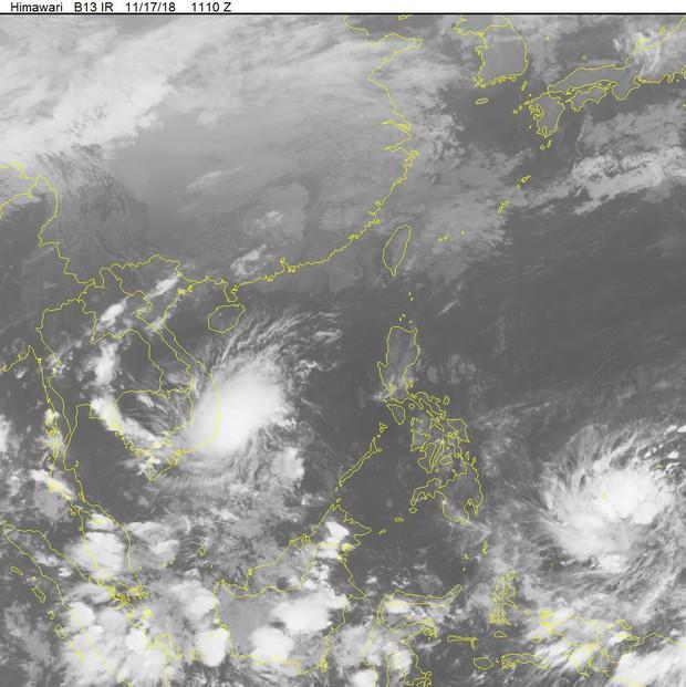 Khẩn cấp: Áp thấp nhiệt đới mạnh lên thành cơn bão số 8 Toraji tiến mạnh áp sát đất liền - Ảnh 2.