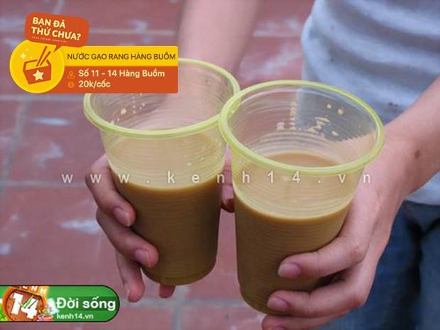 Ai còn nhớ ở Hà Nội có món nước gạo rang vang danh một thời và đây là 3 địa chỉ nước gạo rang hiếm hoi còn sót lại - Ảnh 6.