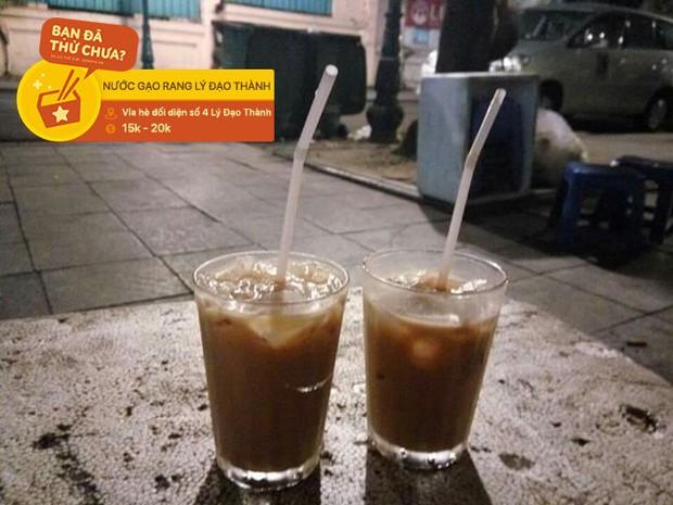 Ai còn nhớ ở Hà Nội có món nước gạo rang vang danh một thời và đây là 3 địa chỉ nước gạo rang hiếm hoi còn sót lại - Ảnh 4.