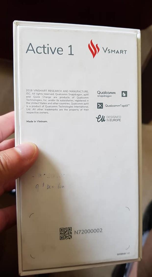 Smartphone đầu tiên của Vingroup - VSmart Active 1 - bất ngờ lộ diện: Sản xuất ở Việt Nam, thiết kế tại châu Âu? - Ảnh 2.