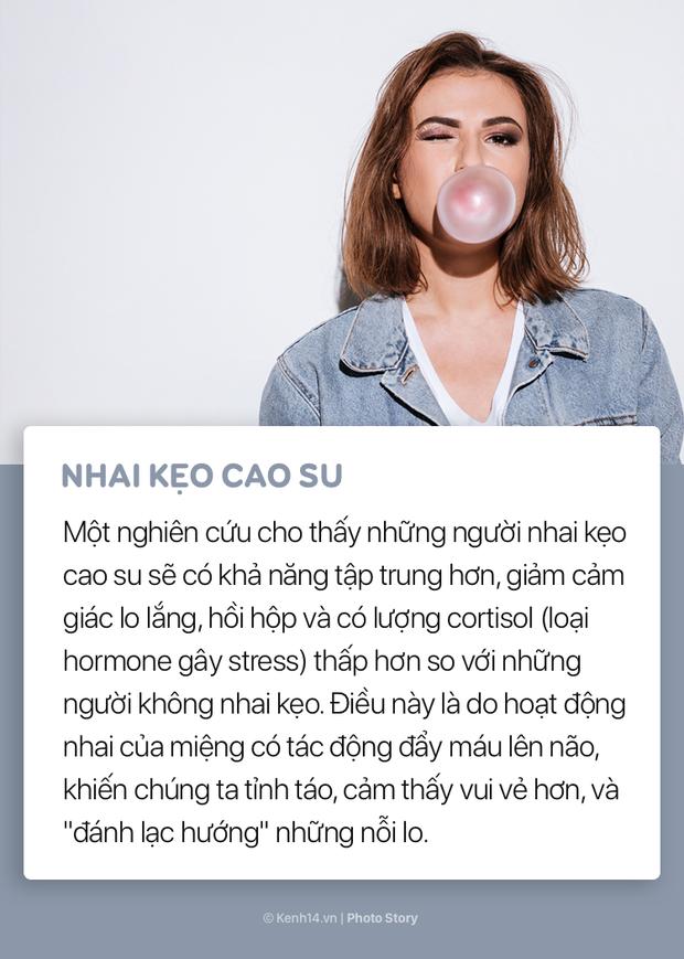 Khi bị stress thì đừng cáu kỉnh với mọi người mà hãy thử ngay những mẹo nhỏ này để hạ nhiệt - Ảnh 5.