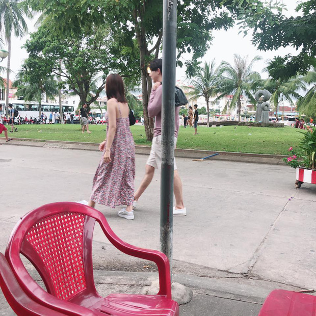 Jin Ju Hyung và Chi Pu bị bắt gặp dạo phố Hội An cùng nhau - Ảnh 3.