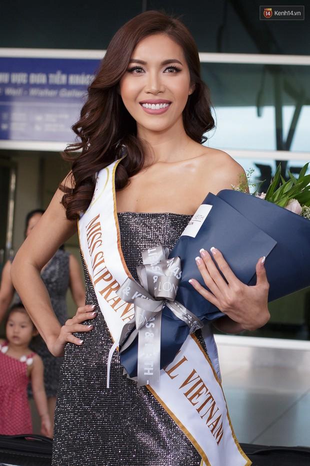 Minh Tú xuất hiện nổi bật tại sân bay, khởi hành đi Ba Lan chinh phục vương miện Miss Supranational 2018 - Ảnh 2.
