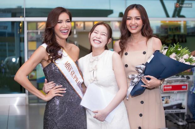 Minh Tú xuất hiện nổi bật tại sân bay, khởi hành đi Ba Lan chinh phục vương miện Miss Supranational 2018 - Ảnh 9.