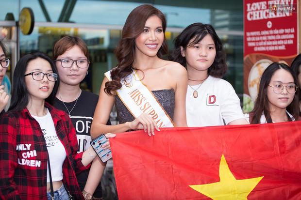 Minh Tú xuất hiện nổi bật tại sân bay, khởi hành đi Ba Lan chinh phục vương miện Miss Supranational 2018 - Ảnh 7.