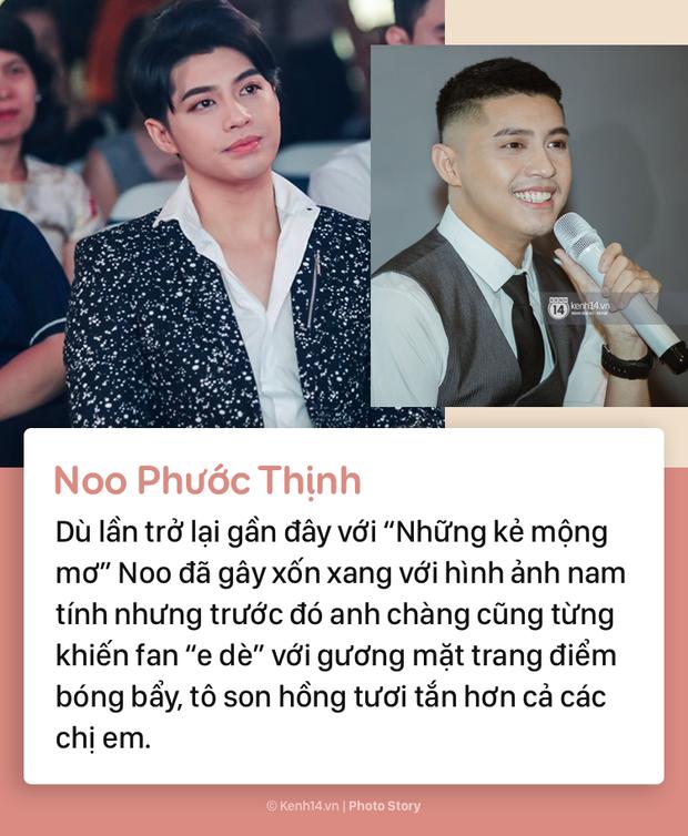 Điểm qua những sao nam Việt chăm chỉ makeup đậm hơn cả các chị em phụ nữ - Ảnh 3.
