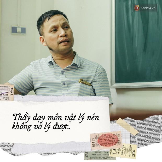 Thầy giáo Thiên hạ đệ nhất dạy Lý Dương Văn Cẩn: Người kinh doanh Dịch Vụ Cười với tiêu chí Dạy môn Vật Lý nên không vô lý được đâu - Ảnh 3.