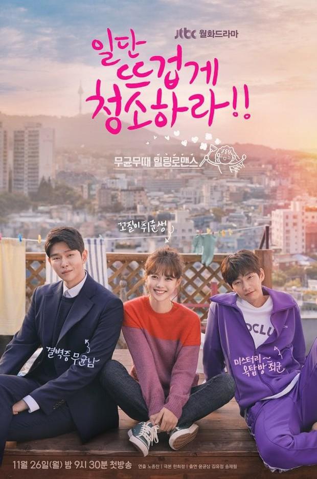 Xem hậu trường Cô Tiên Dọn Dẹp mới biết đôi Kim Yoo Jung - Yoon Kyun Sang đáng yêu từ trong phim tới ngoài đời! - Ảnh 1.