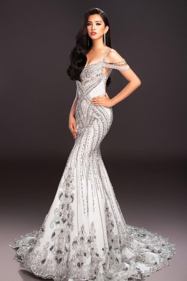 Tiểu Vy mang đến Miss World 2018 loạt váy dạ hội sang chảnh, khoe trọn sắc vóc của mỹ nhân 10x - Ảnh 3.