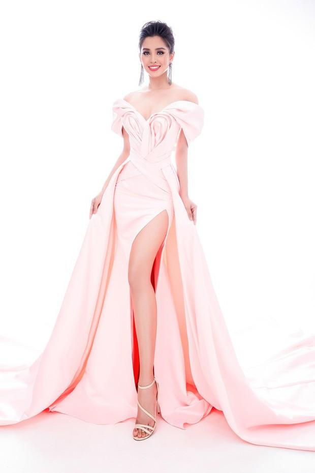 Tiểu Vy mang đến Miss World 2018 loạt váy dạ hội sang chảnh, khoe trọn sắc vóc của mỹ nhân 10x - Ảnh 7.