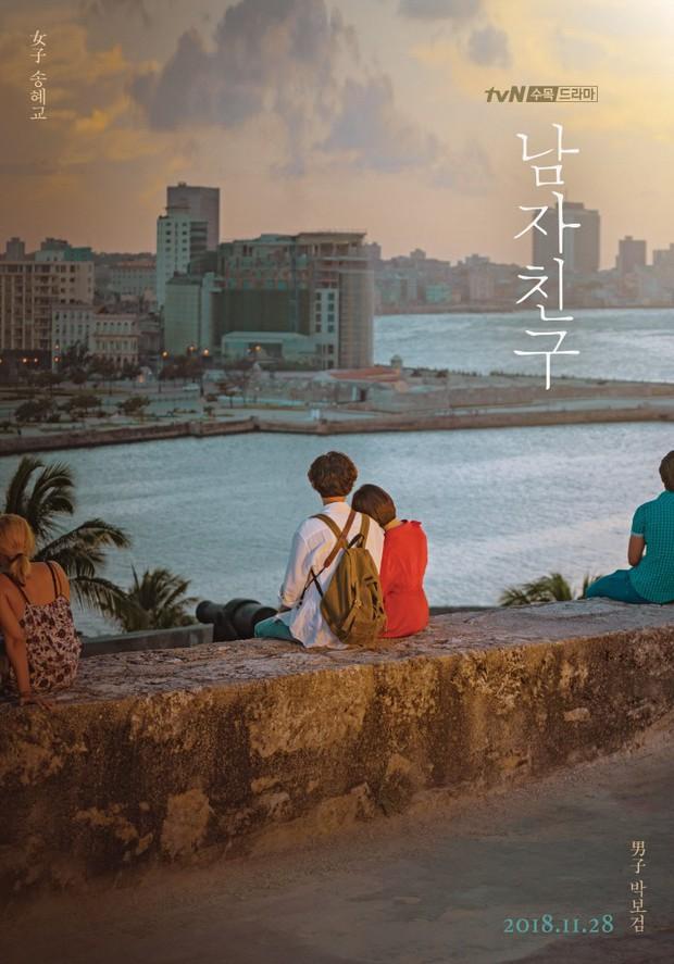 Biết chỉ là phim nhưng Song Joong Ki sẽ không thích điều này: Song Hye Kyo tựa đầu tình tứ Bạn Trai Park Bo Gum! - Ảnh 1.