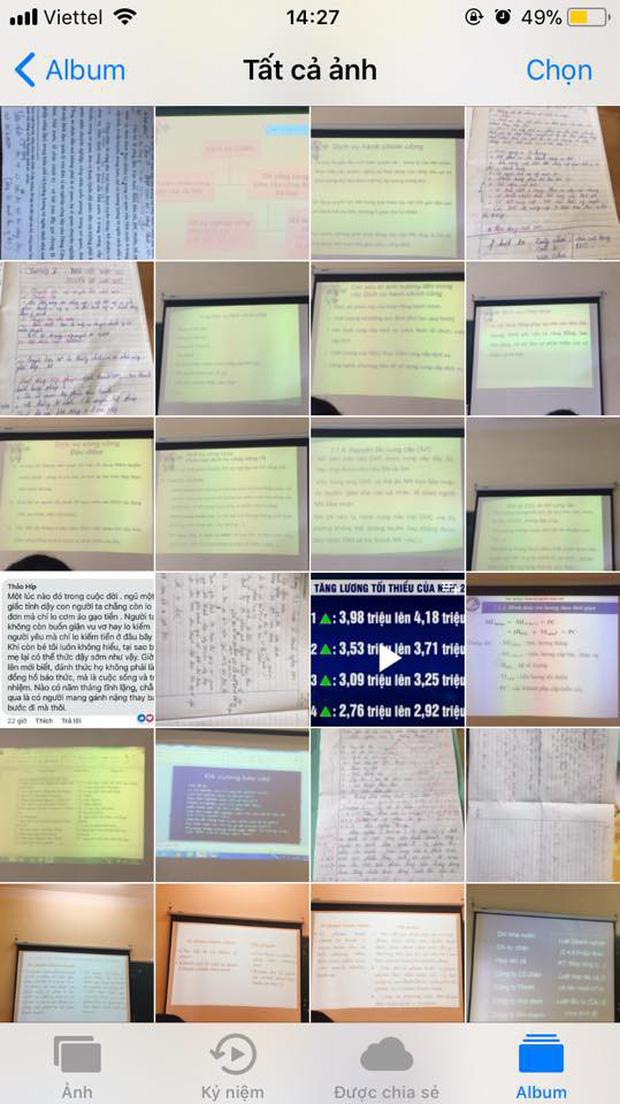 Sinh viên giờ lạ lùng lắm: Không thích ghi chép, bài giảng nào cũng chụp nhưng chẳng bao giờ xem lại - Ảnh 6.