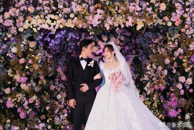 Chùm ảnh Đường Yên hoá thành công chúa đẹp hoàn mỹ với váy cưới đuôi dài 4m cuối cùng cũng được tiết lộ - Ảnh 9.